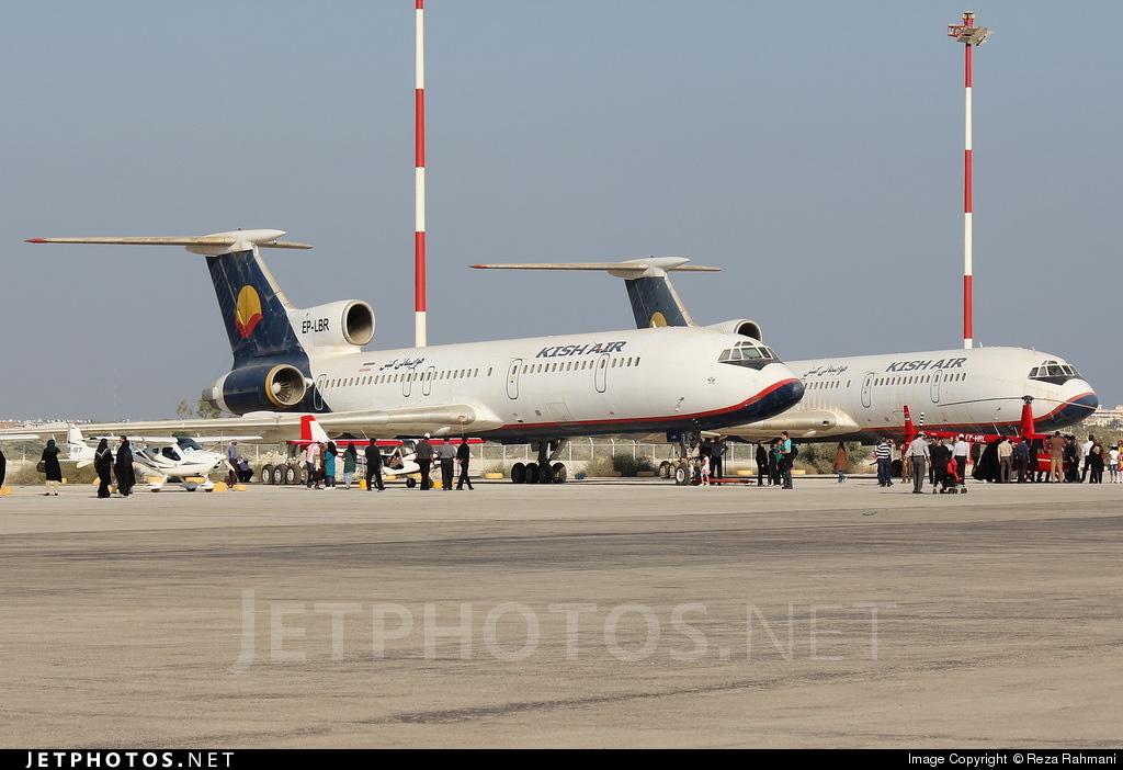 EP-LBR - Tupolev Tu-154M - Kish Air