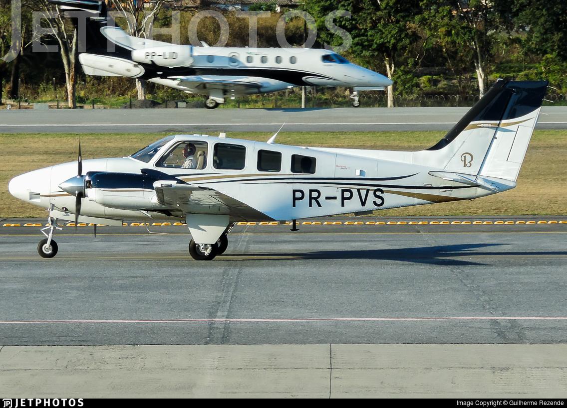 PR-PVS - Beechcraft G58 Baron - Private