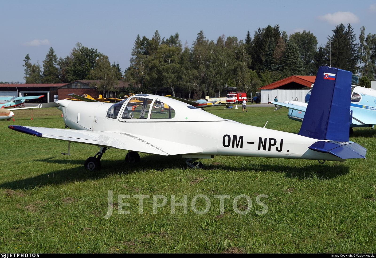 OM-NPJ - Orlican L-40 Meta-Sokol - Aero Club - Slovak Republic