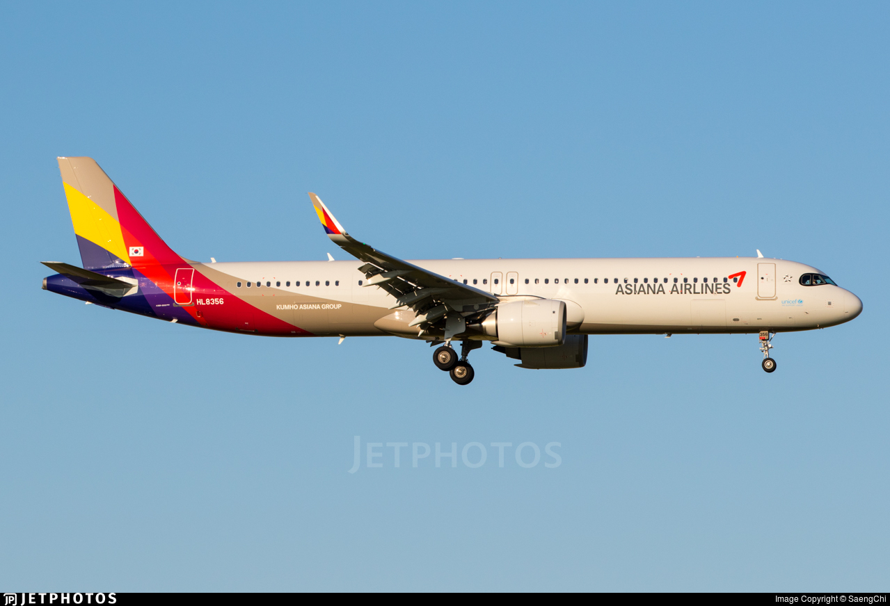 HL8356 - Airbus A321-251NX - Asiana Airlines