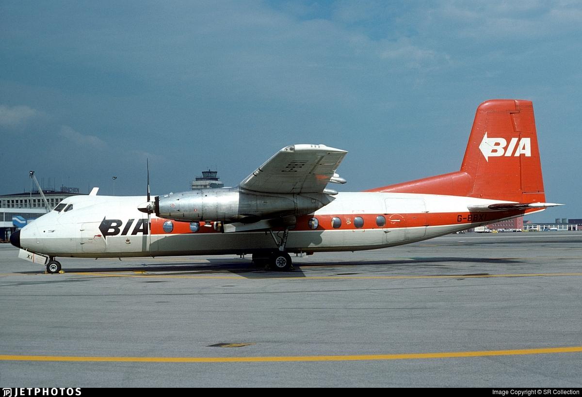 G-BBXI - Handley Page Dart Herald 203 - British Island Airways