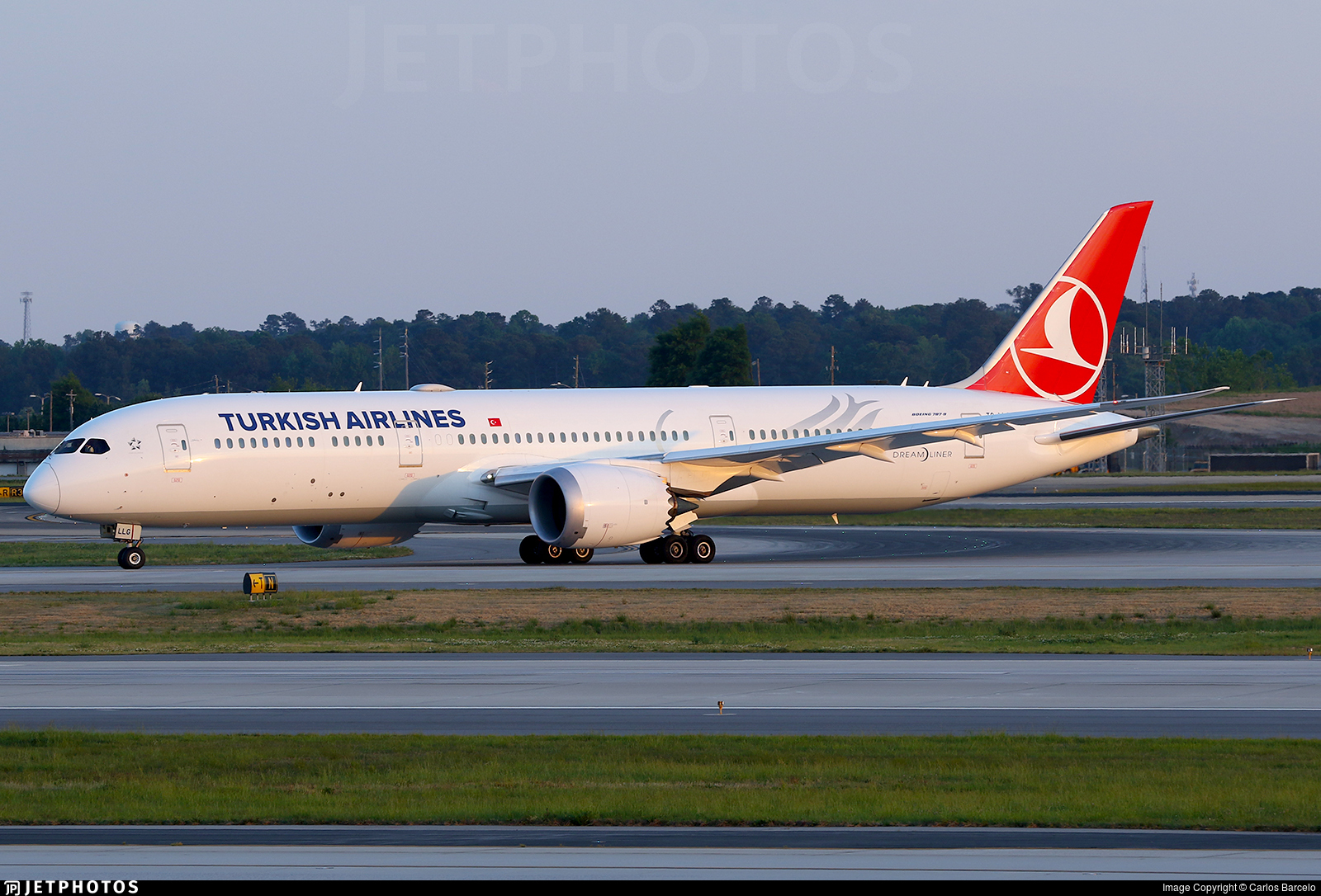 TC-LLG - Boeing 787-9 Dreamliner - Turkish Airlines