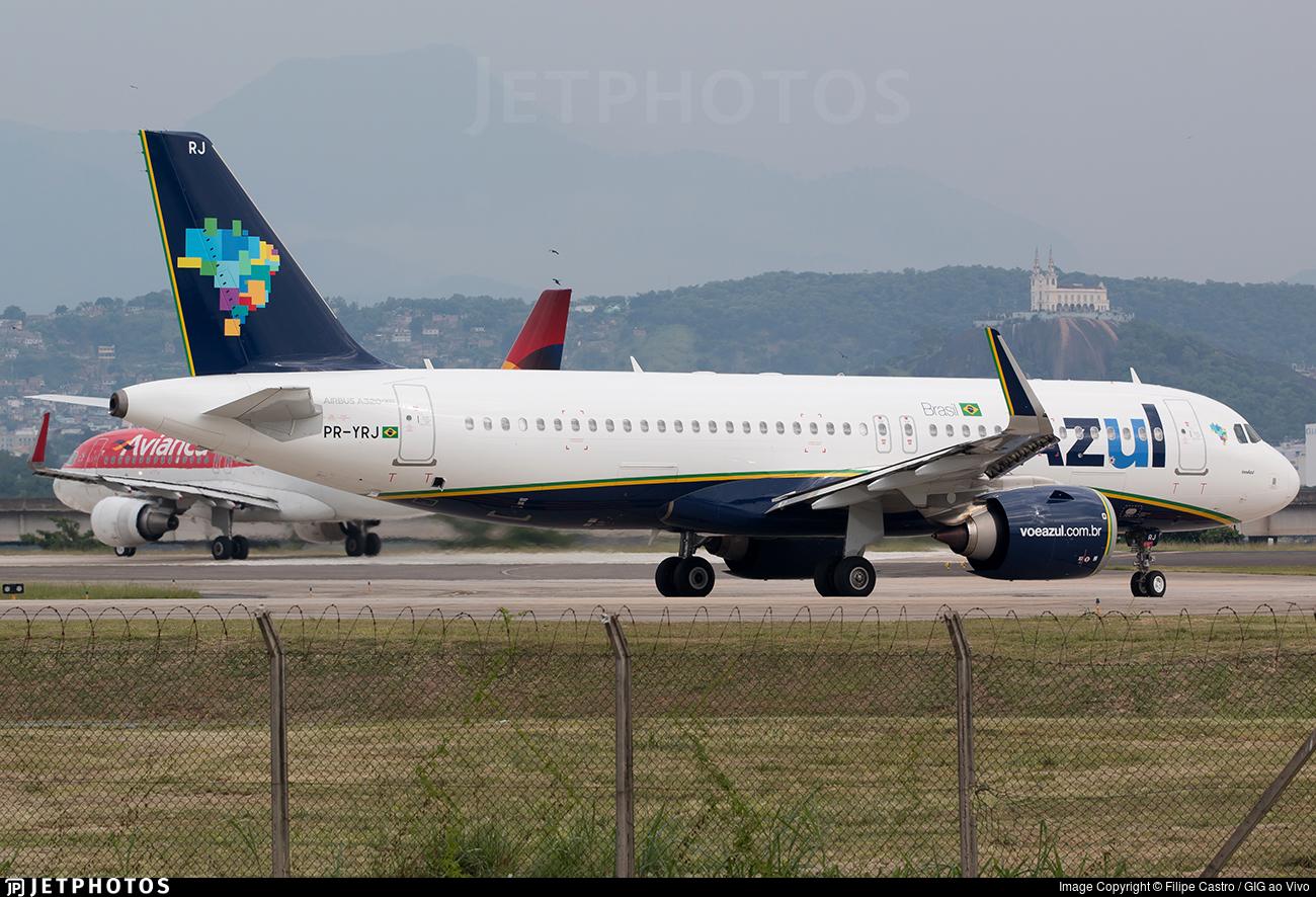PR-YRJ - Airbus A320-251N - Azul Linhas Aéreas Brasileiras