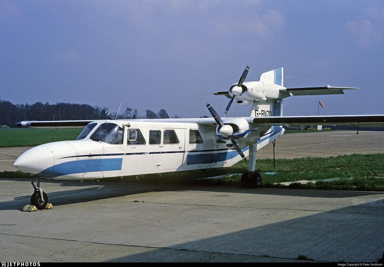 G-BNZD | Britten-Norman BN-2A Mk III-2 Trislander | Britten-Norman