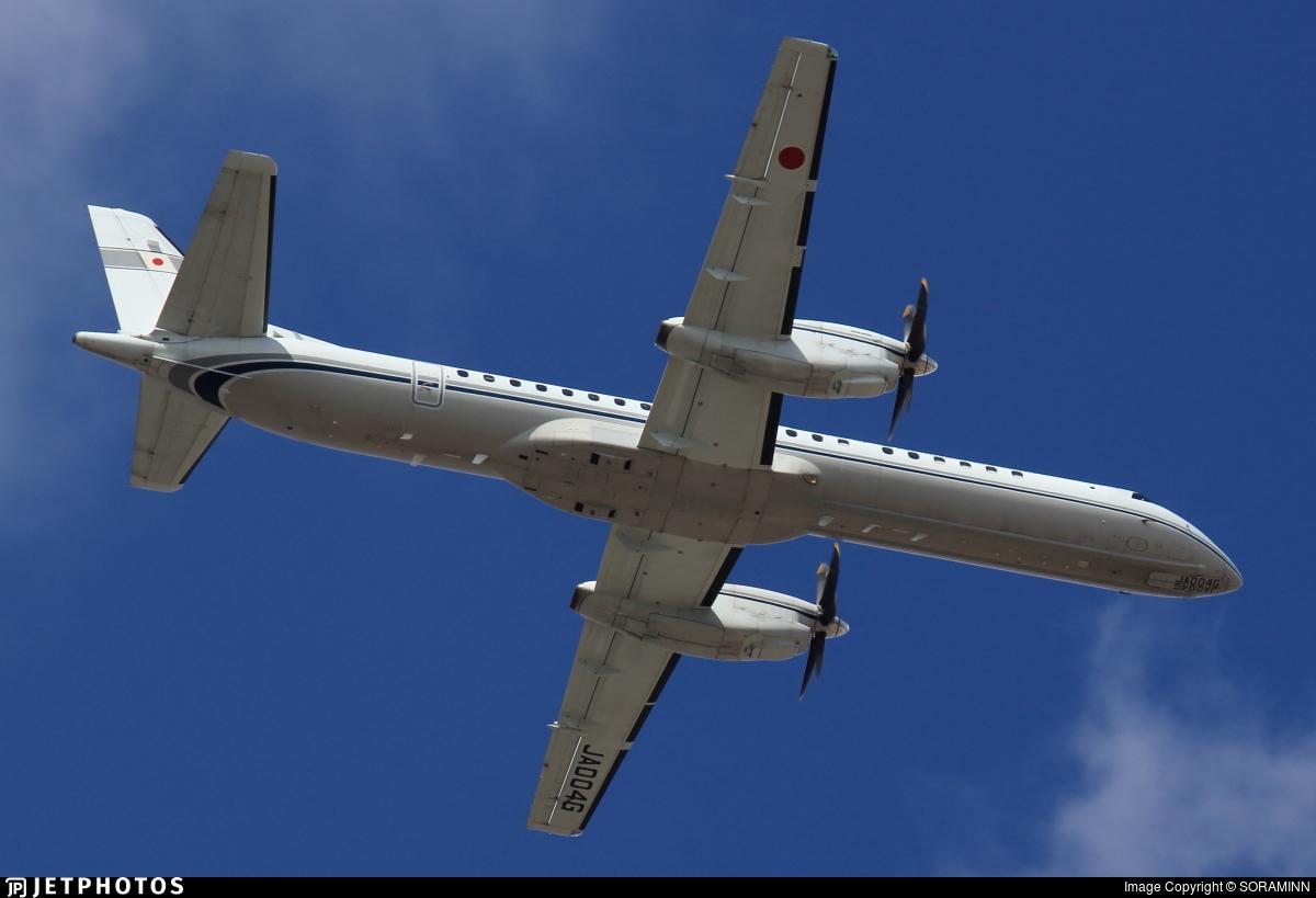 ja004g saab 2000 japan civil aviation bureau jetphotos. Black Bedroom Furniture Sets. Home Design Ideas