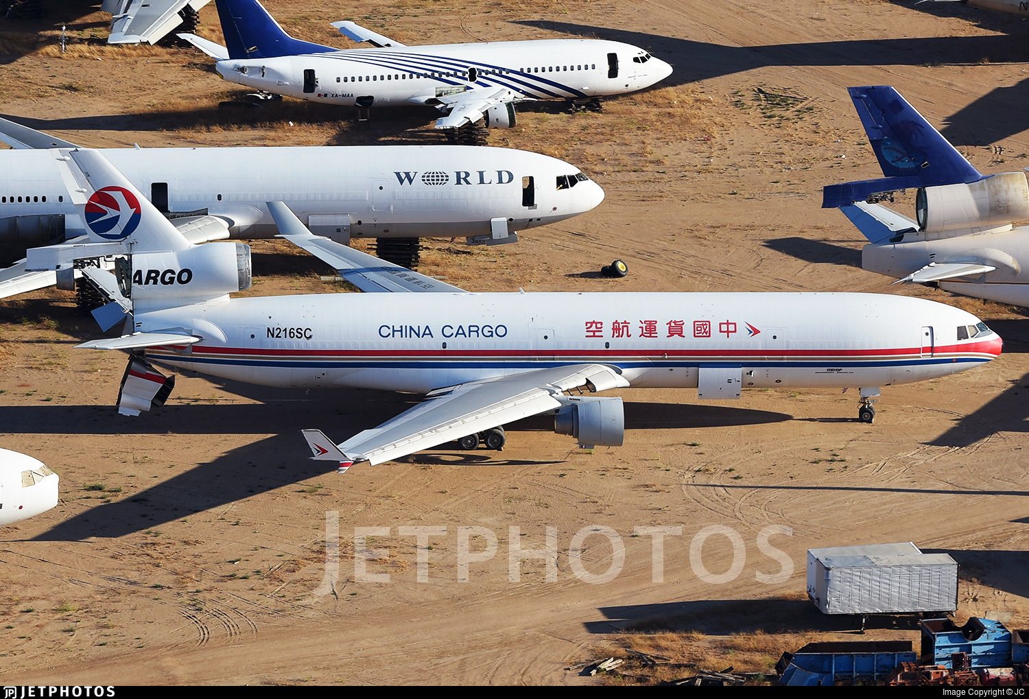 N216SC - McDonnell Douglas MD-11(F) - China Cargo Airlines