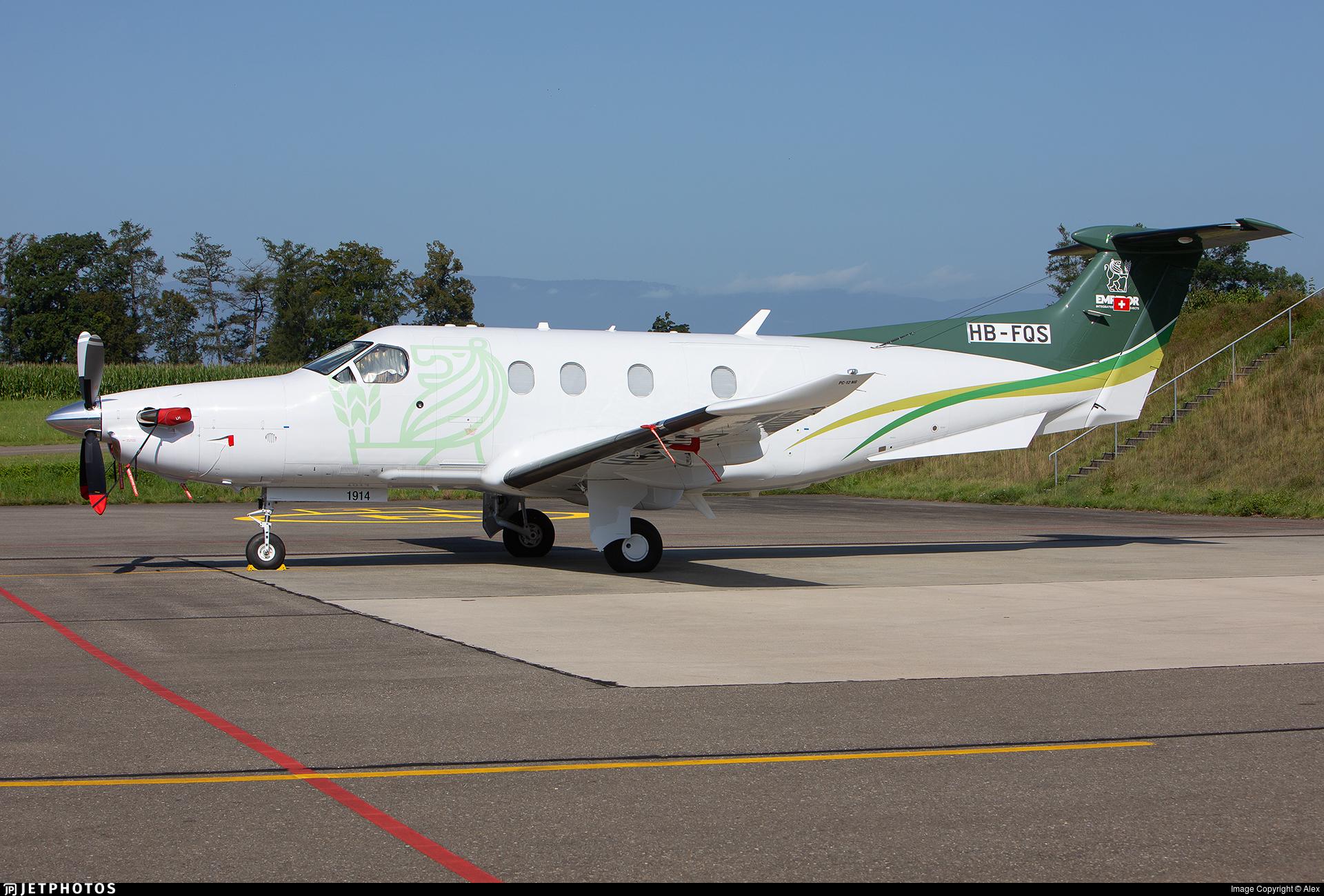 HB-FQS - Pilatus PC-12/47E - Private