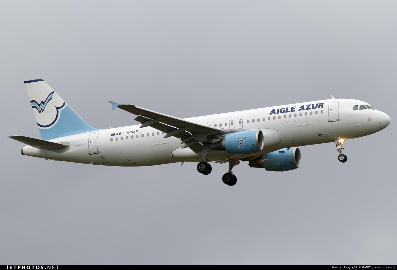 F-HBAP - Airbus A320-214 - Aigle Azur