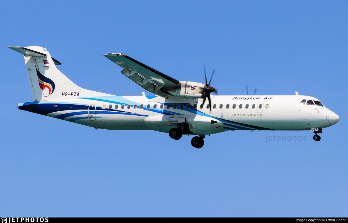 HS-PZA - ATR 72-212A(600) - Bangkok Airways