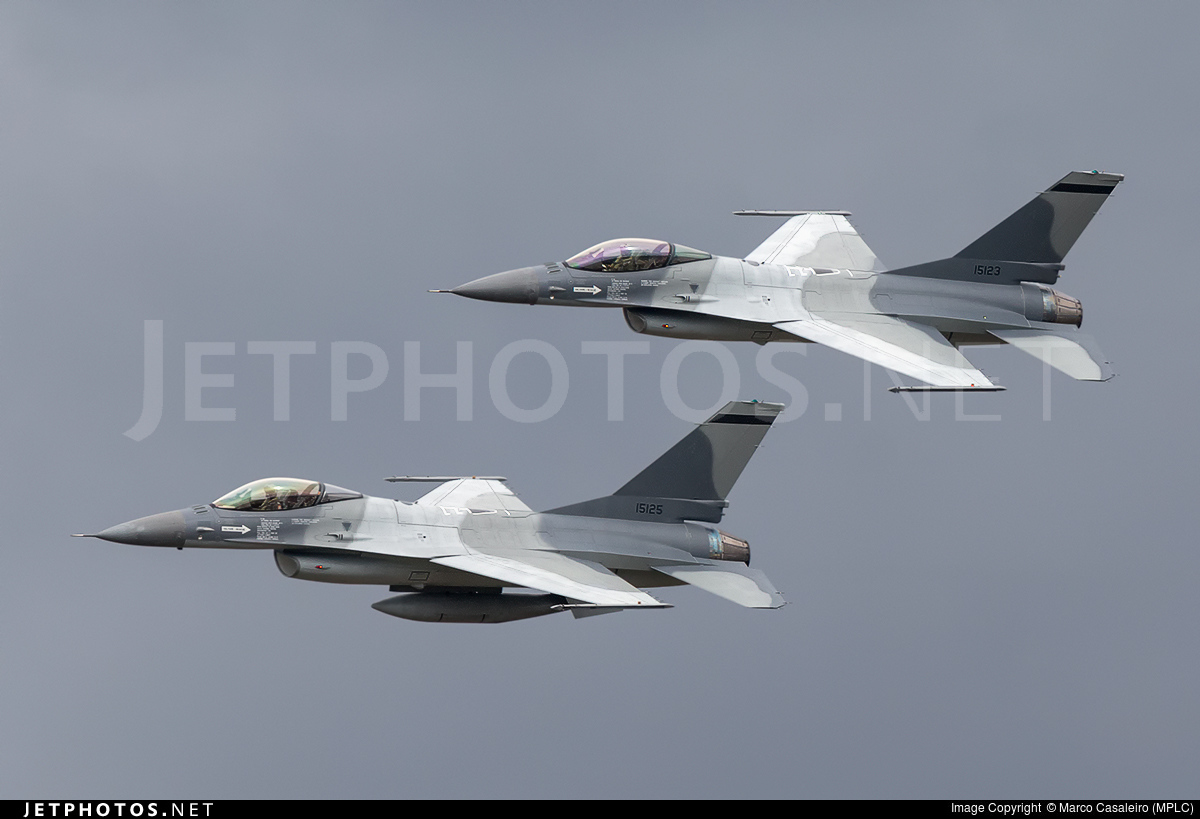 15125 - General Dynamics F-16AM Fighting Falcon - Portugal - Air Force