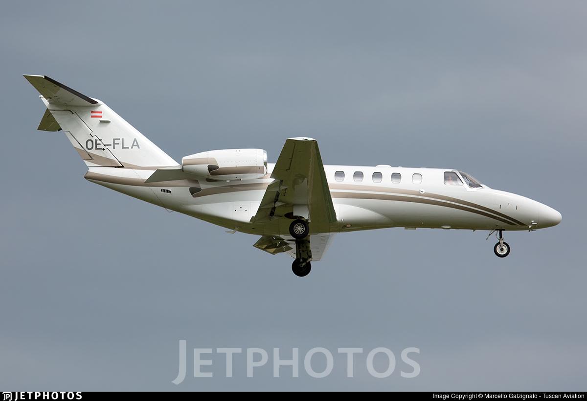 OE-FLA - Cessna 525A CitationJet 2 - Fly Tyrol