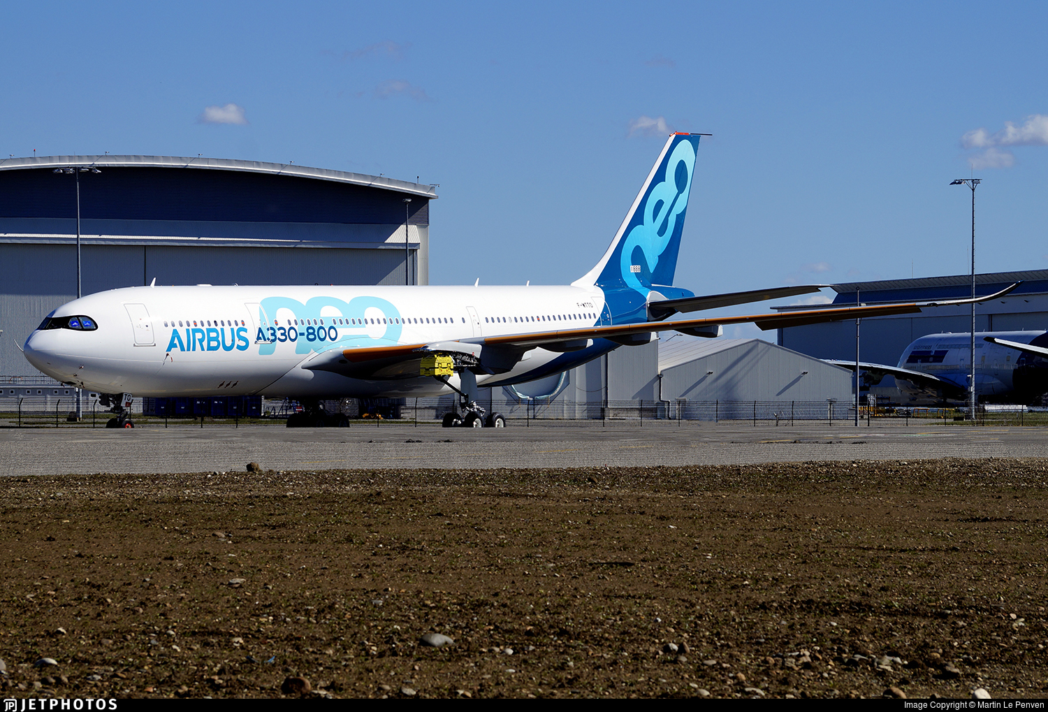 F-WTTO - Airbus A330-841 - Airbus Industrie