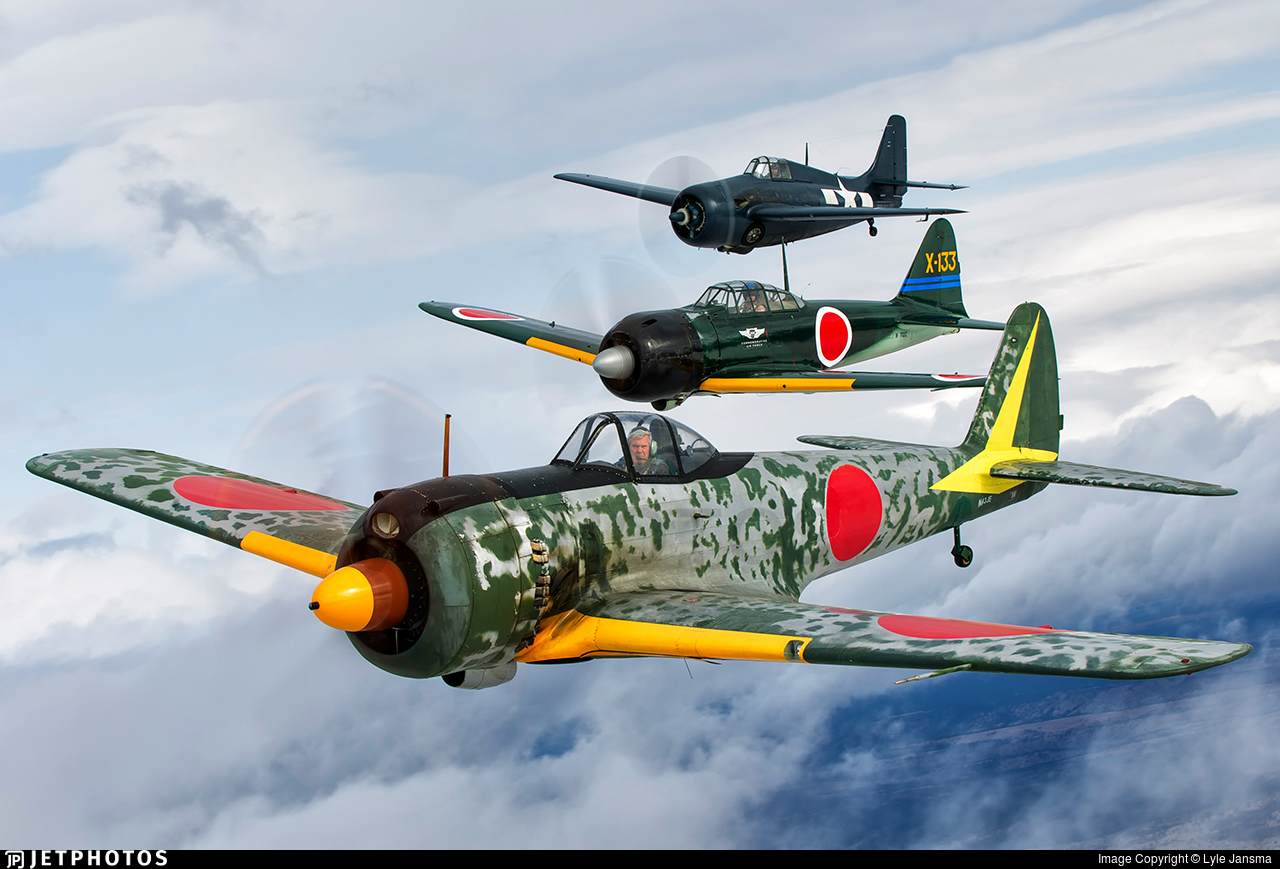 N43JE - Nakajima Ki-43-IIIa Hayabusa - Private