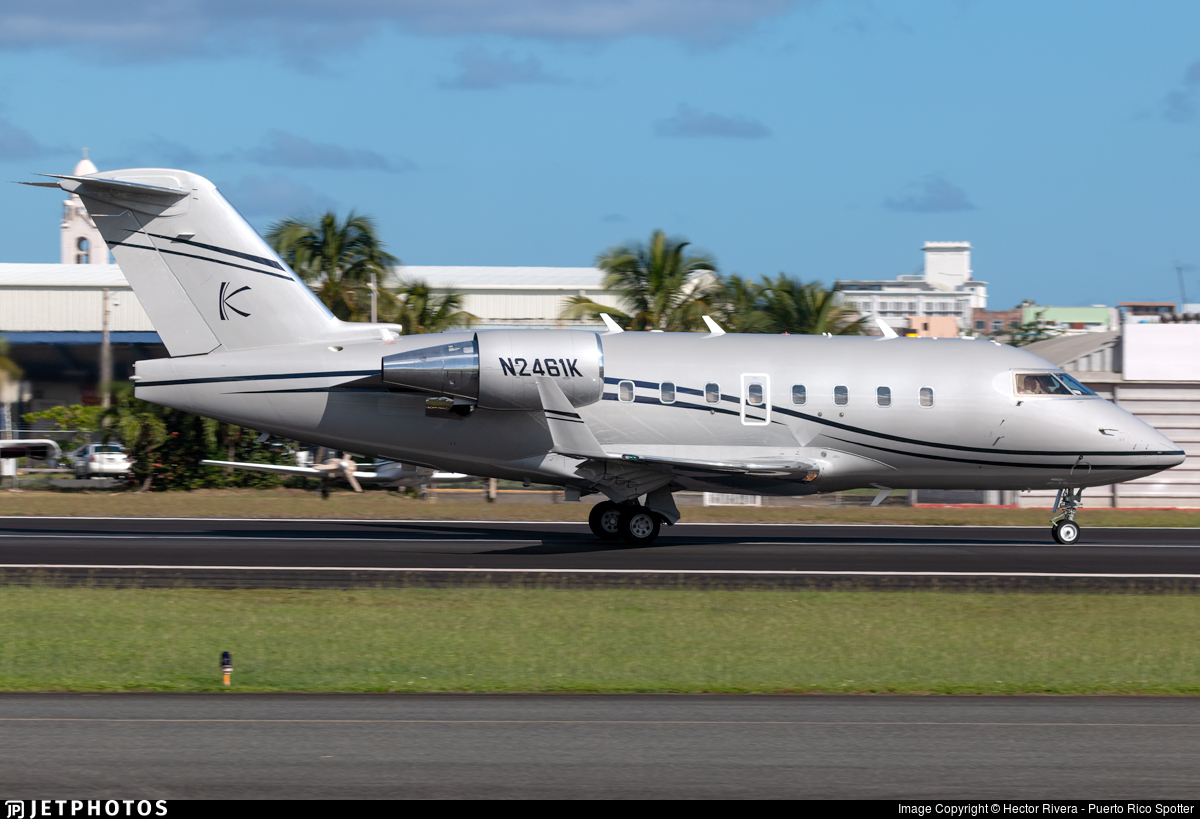 N2461K - Bombardier CL-600-2B16 Challenger 604 - Private
