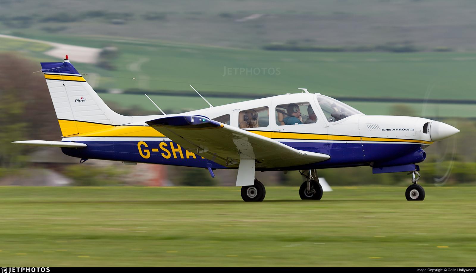 G-SHAY - Piper PA-28R-201T Turbo Cherokee Arrow III - Private
