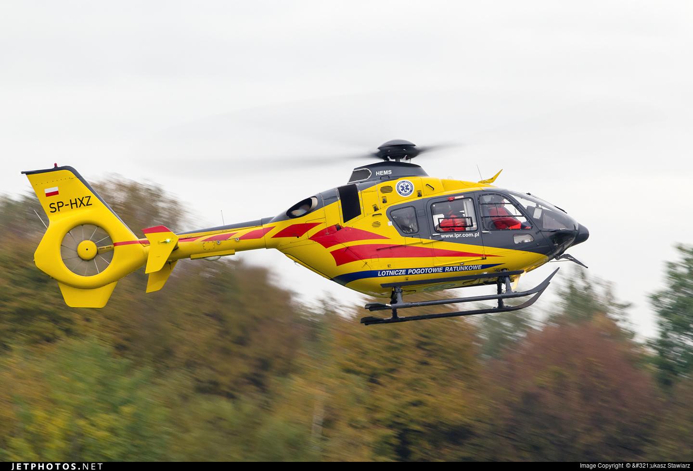 �hxz_SP-HXZ EurocopterEC135P2i LotniczePogotowieRatunkowe ŁukaszStawiarz