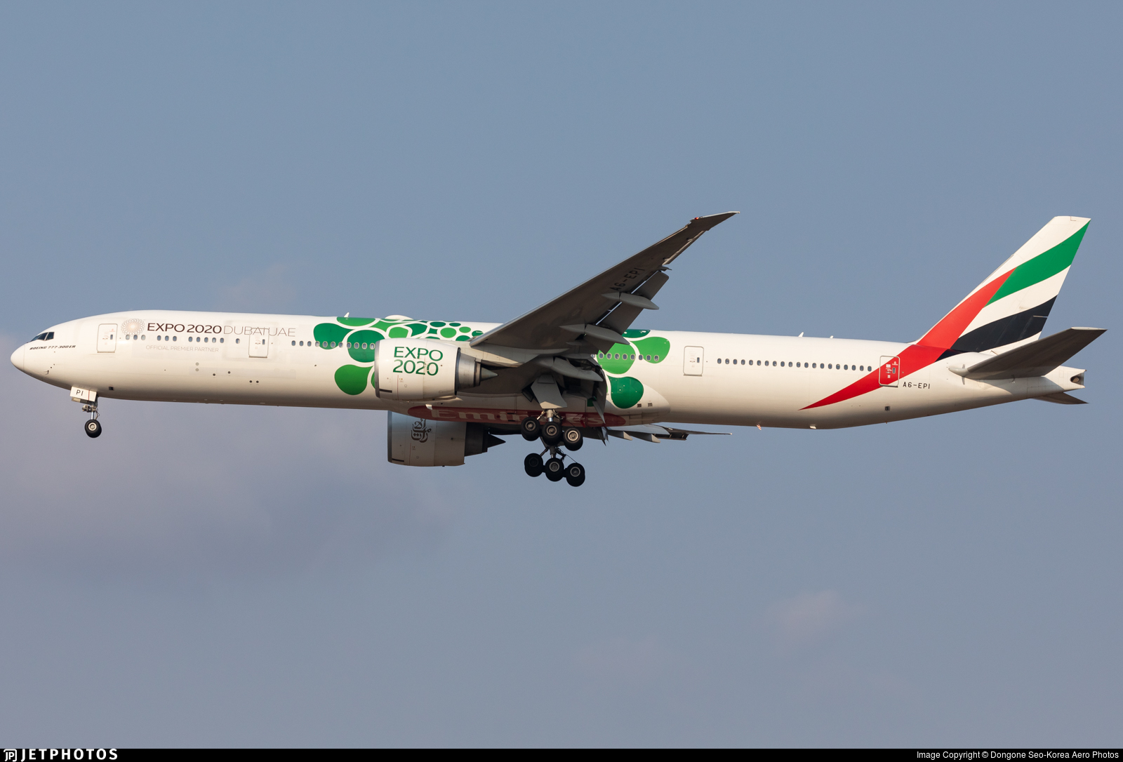 A6-EPI - Boeing 777-31HER - Emirates