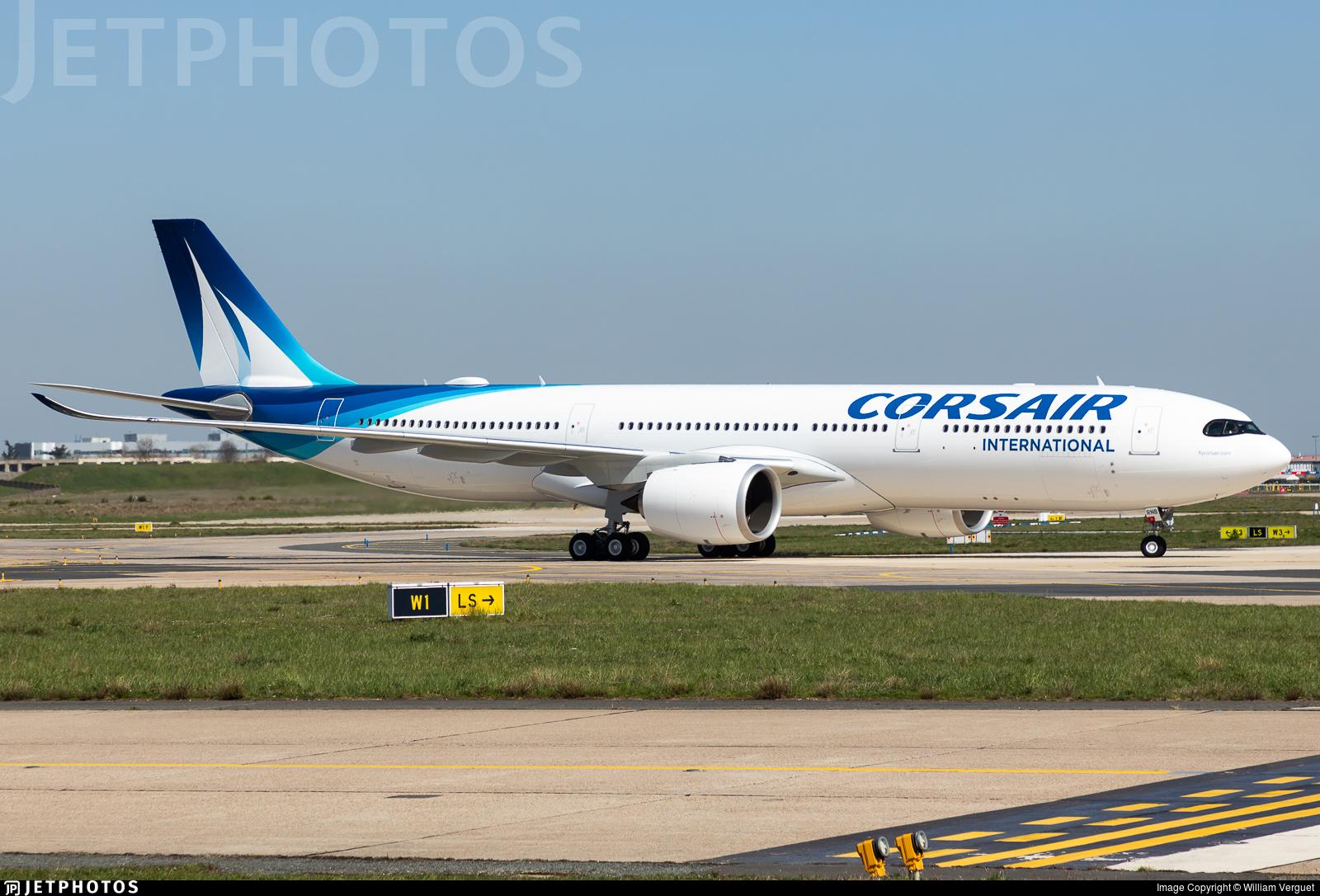 F-HRNB - Airbus A330-941 - Corsair International