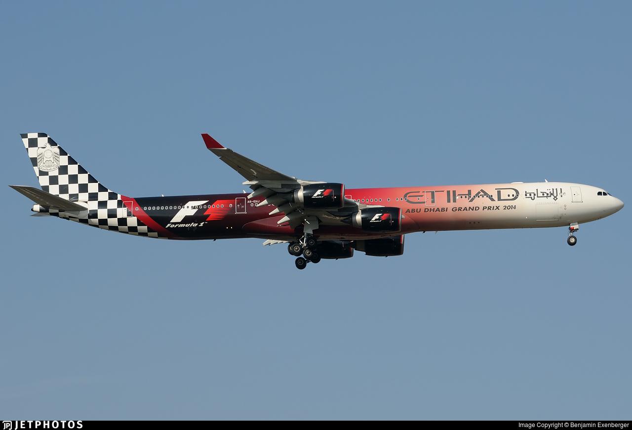 A6-EHJ - Airbus A340-642 - Etihad Airways