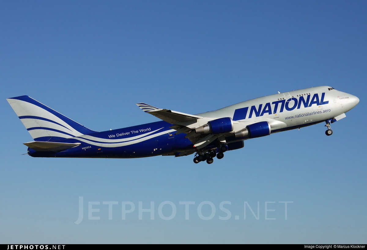 N952CA | Boeing 747-428(BCF) | National Airlines | Marcus ...