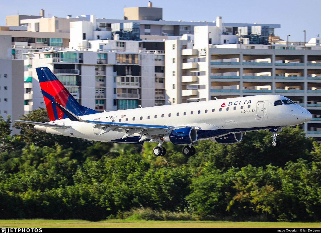 N301SY  - Embraer 170-200LL - Delta Connection (SkyWest Airlines)