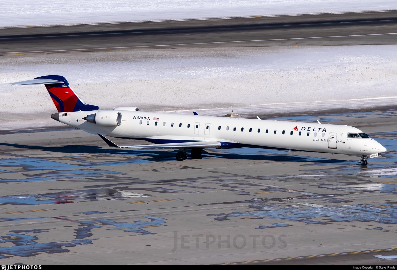 N480PX - Bombardier CRJ-900LR - Delta Connection (Endeavor Air)