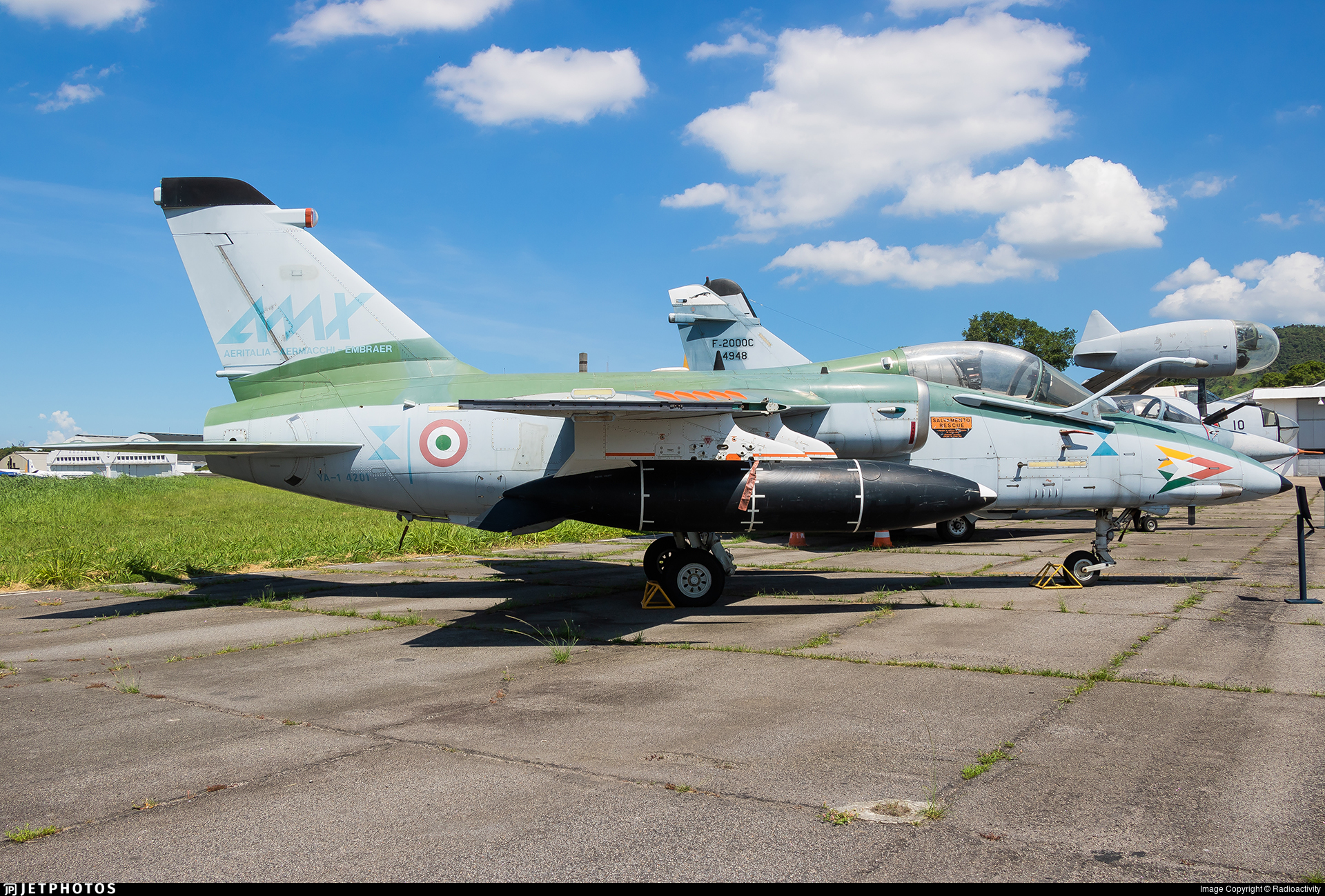FAB4201 - Alenia/Aermacchi/Embraer AMX - Brazil - Air Force