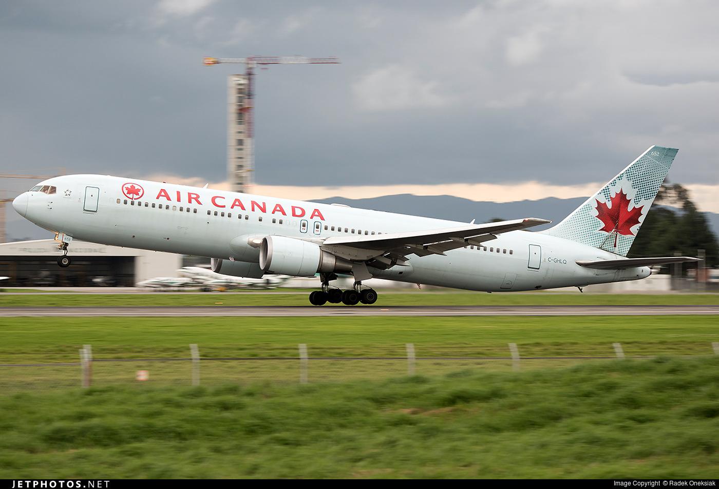 C-GHLQ - Boeing 767-36N(ER) - Air Canada