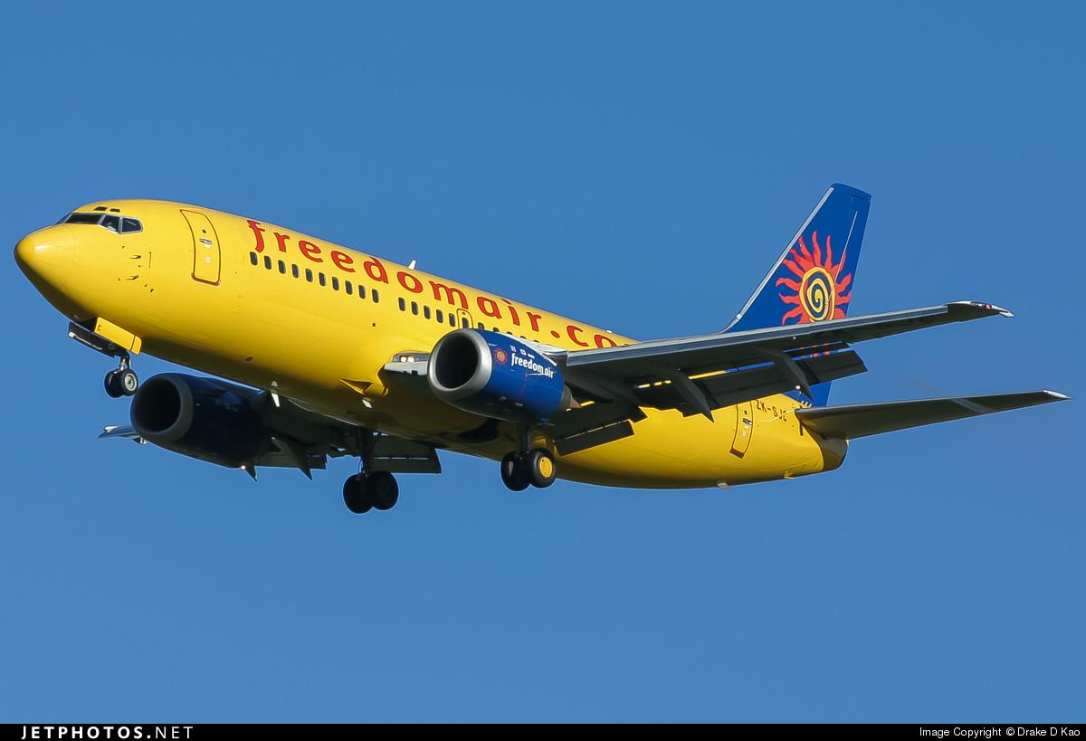 ZK-SJC - Boeing 737-3U3 - Freedom Air