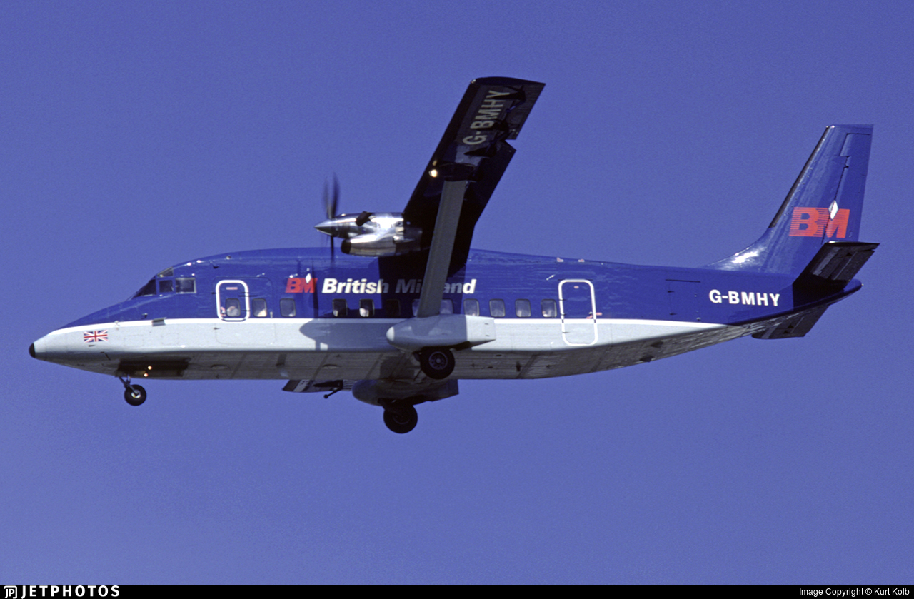 G-BMHY - Short 360-100 - British Midland