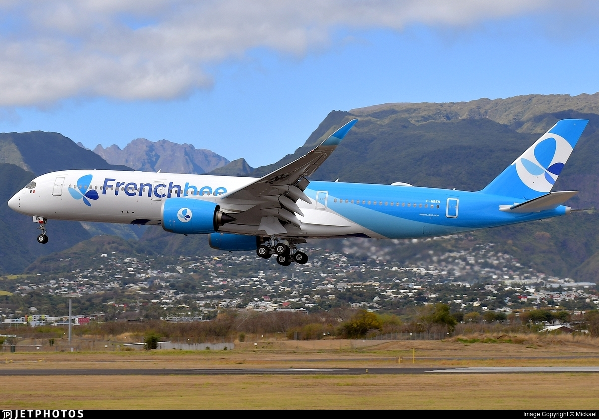 F-HREN - Airbus A350-941 - French Bee