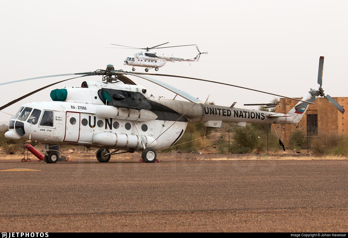 RA-27066 - Mil Mi-8MTV Hip - United Nations (UN)