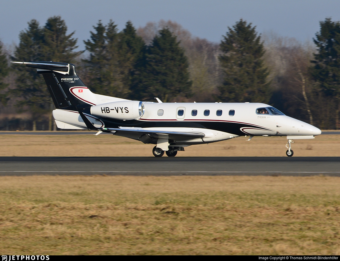 HB-VYS - Embraer 505 Phenom 300 - Private