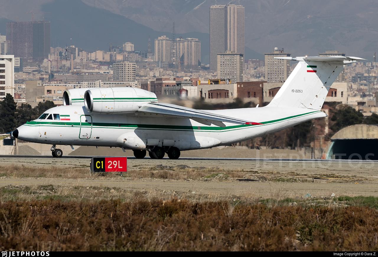 15-2253 - Antonov An-74-200 - Iran - Revolutionary Guard