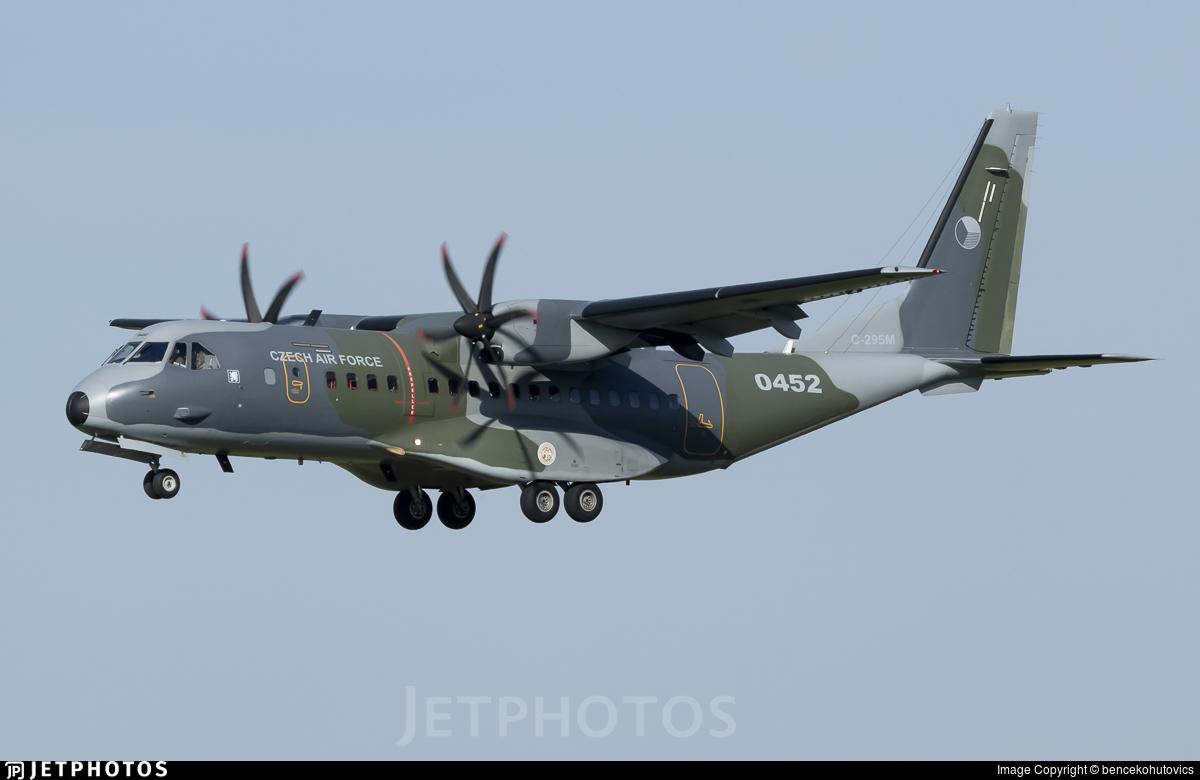 0452 - CASA C-295M - Czech Republic - Air Force