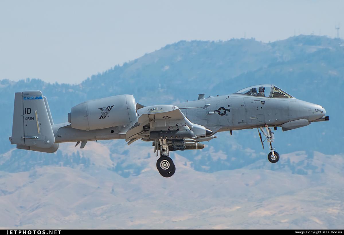78-0624 - Fairchild OA-10A Thunderbolt II - United States - US Air Force (USAF)