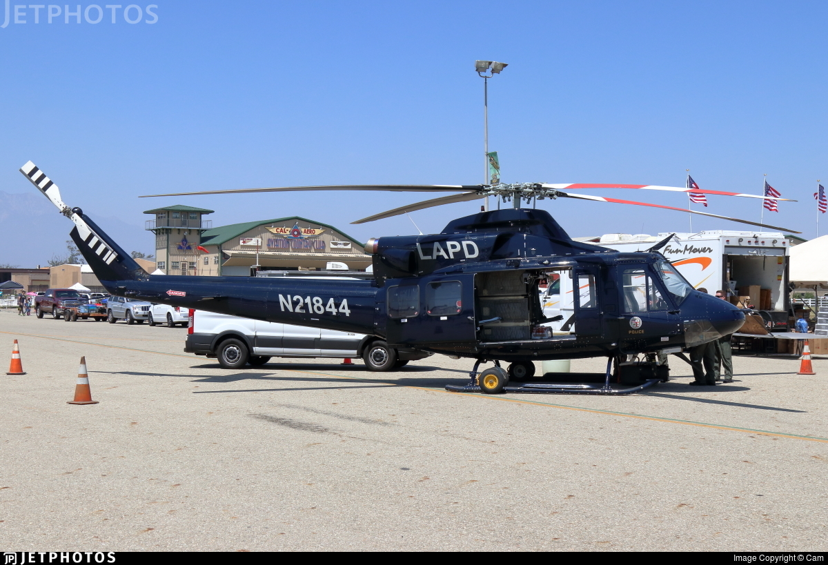 N21844 - Bell 412EP - United States - Los Angeles Police Department (LAPD)