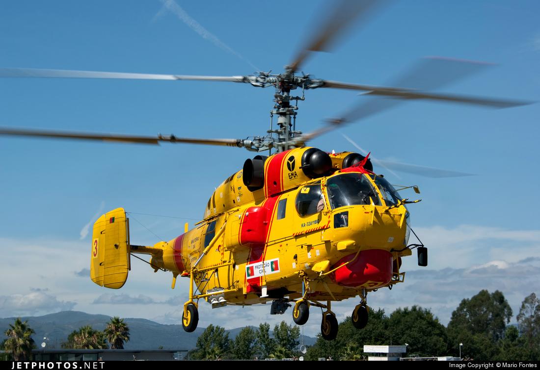 CS-HML - Kamov Ka-32A-11BC - EMA - Empresa de Meios Aéreos