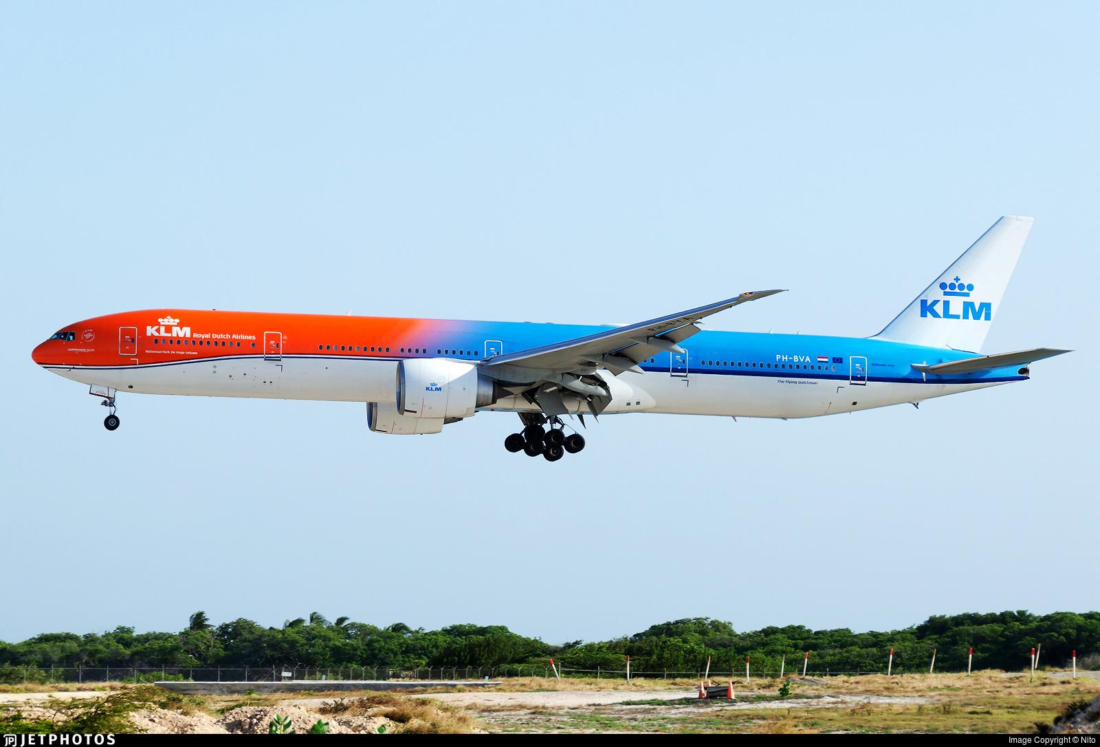 PH-BVA - Boeing 777-306ER - KLM Royal Dutch Airlines