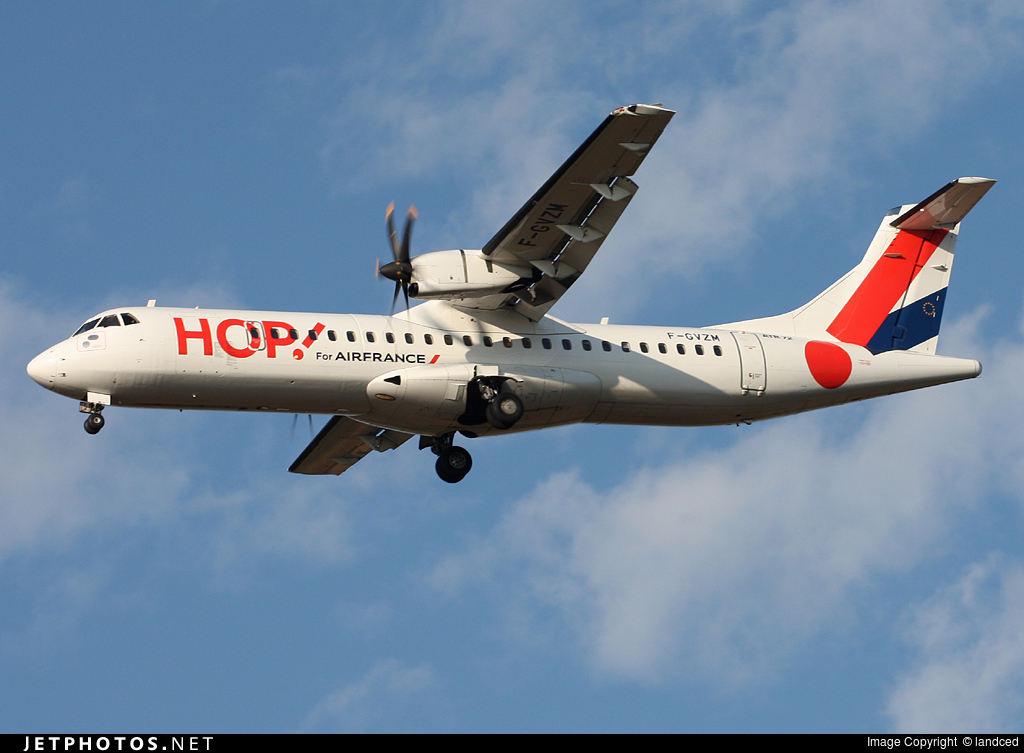 F-GVZM - ATR 72-212A(500) - HOP! for Air France