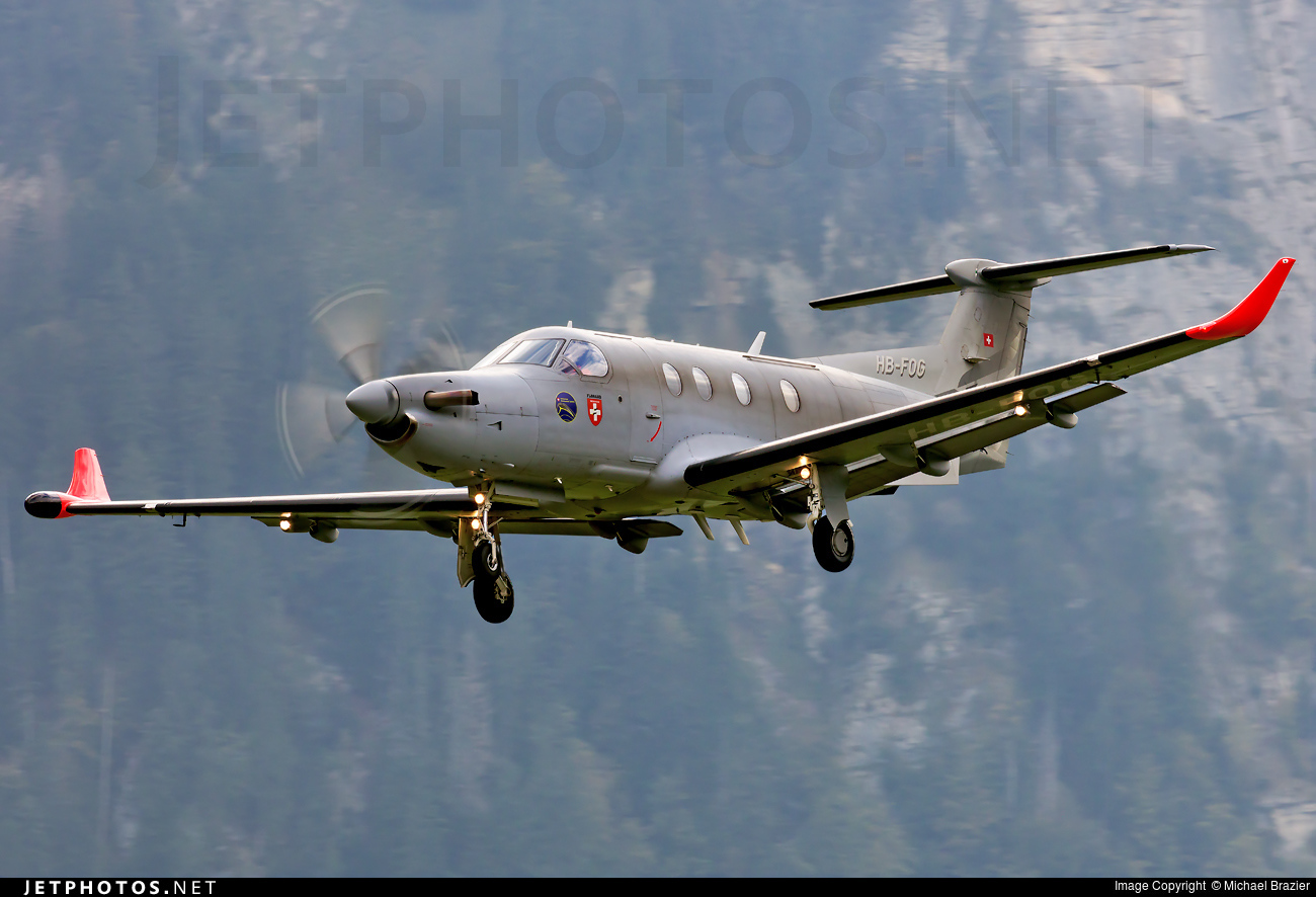 HB-FOG | Pilatus PC-12 Eagle | Switzerland - Air Force | Michael ...