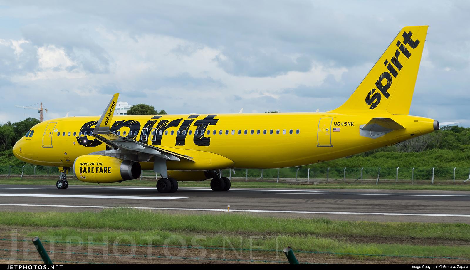 N645NK - Airbus A320-232 - Spirit Airlines