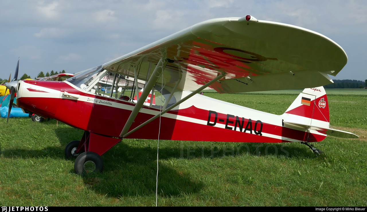 D-ENAQ - Piper PA-18-95 Super Cub - Private
