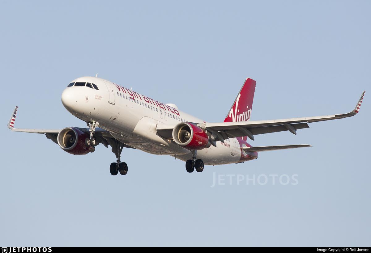 N281VA - Airbus A320-214 - Virgin America