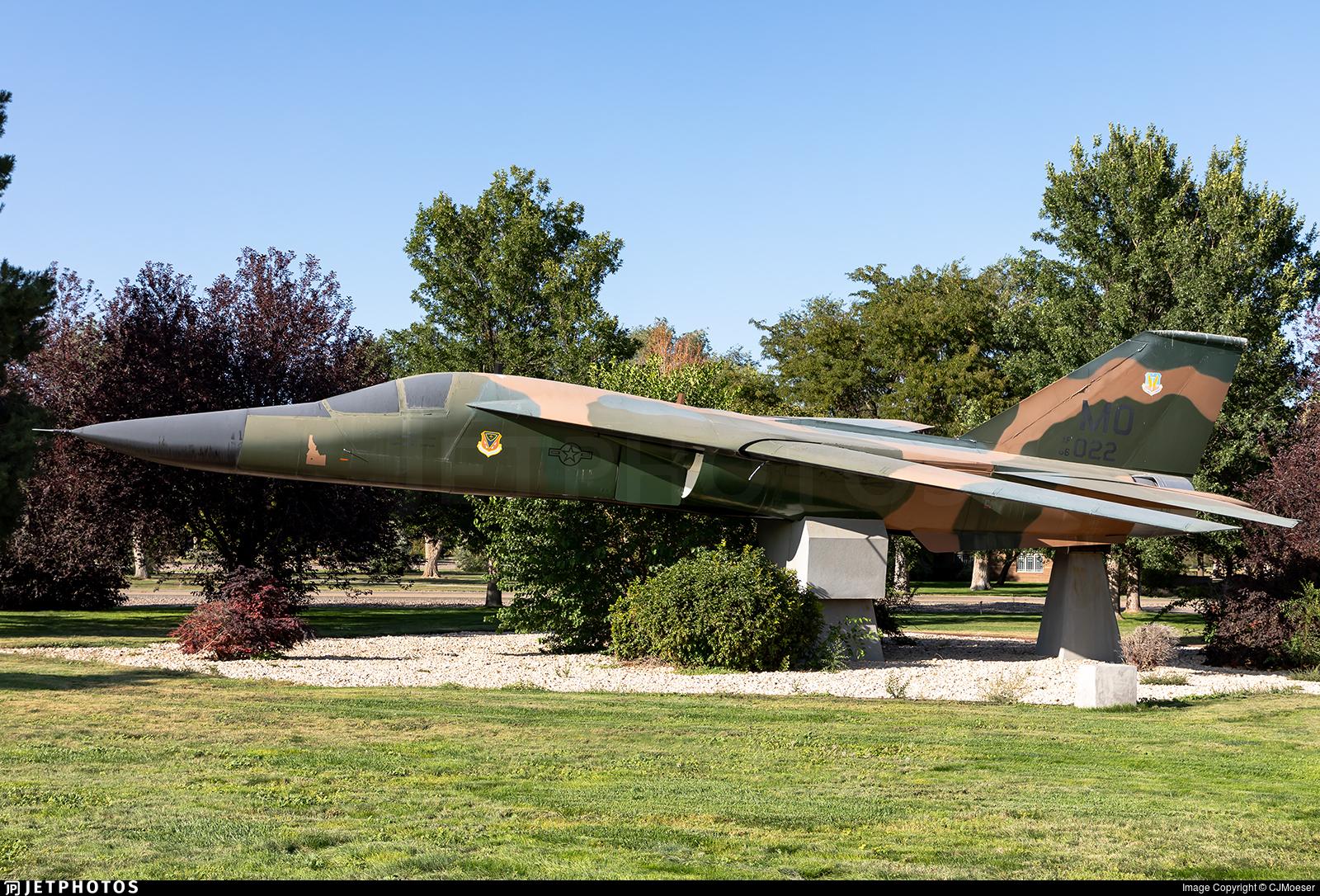 63-9776 - General Dynamics F-111A Aardvark - United States - US Air Force (USAF)