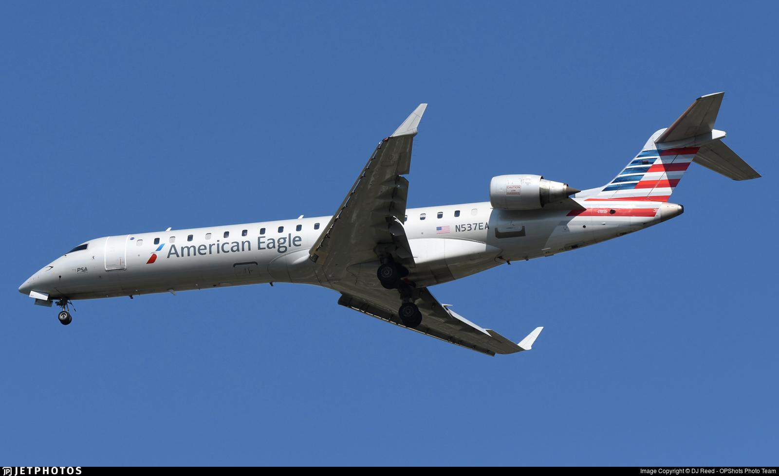 N537EA - Bombardier CRJ-702ER - American Eagle (PSA Airlines)