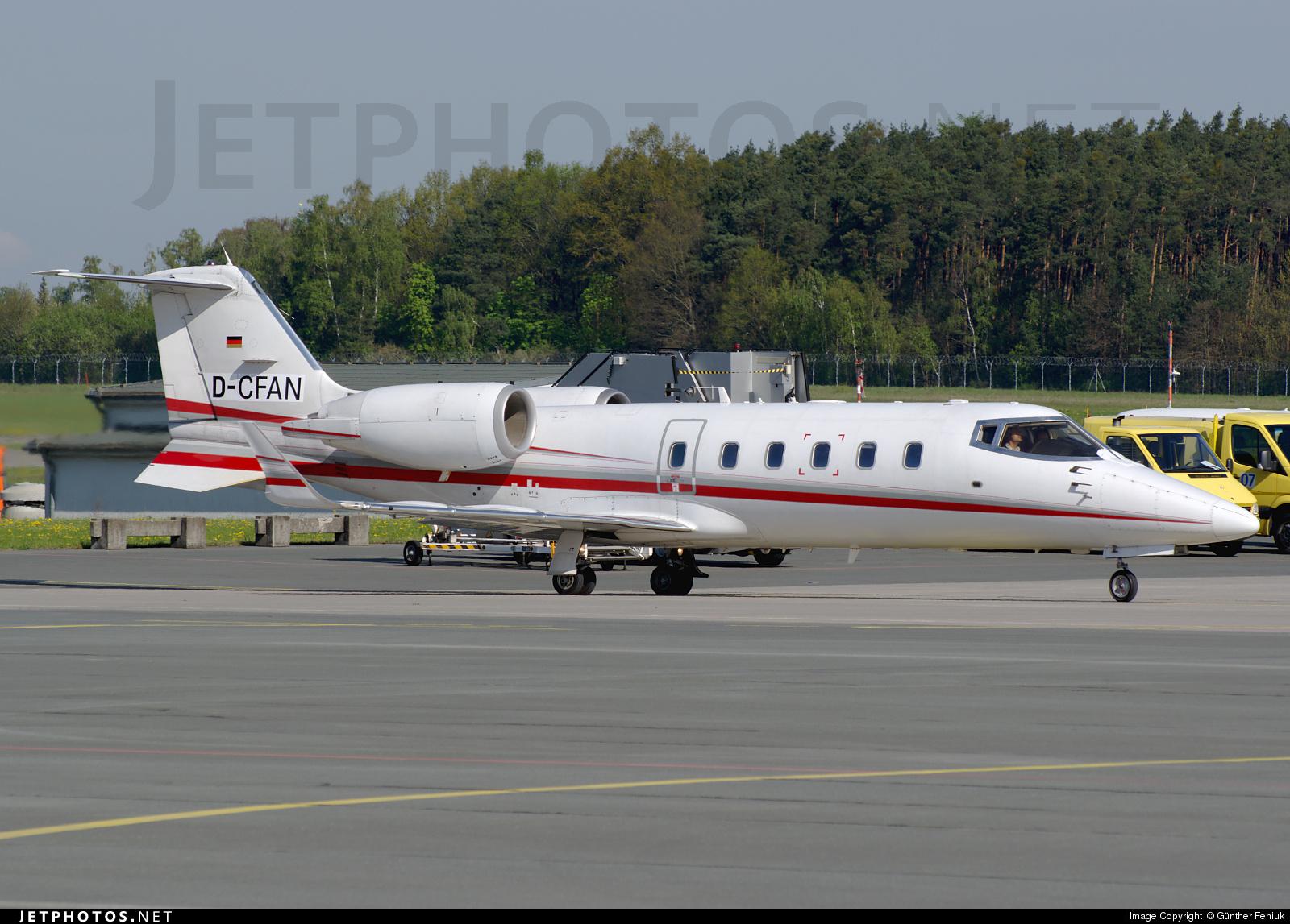 D-CFAN - Bombardier Learjet 60 - FAI Rent-a-jet