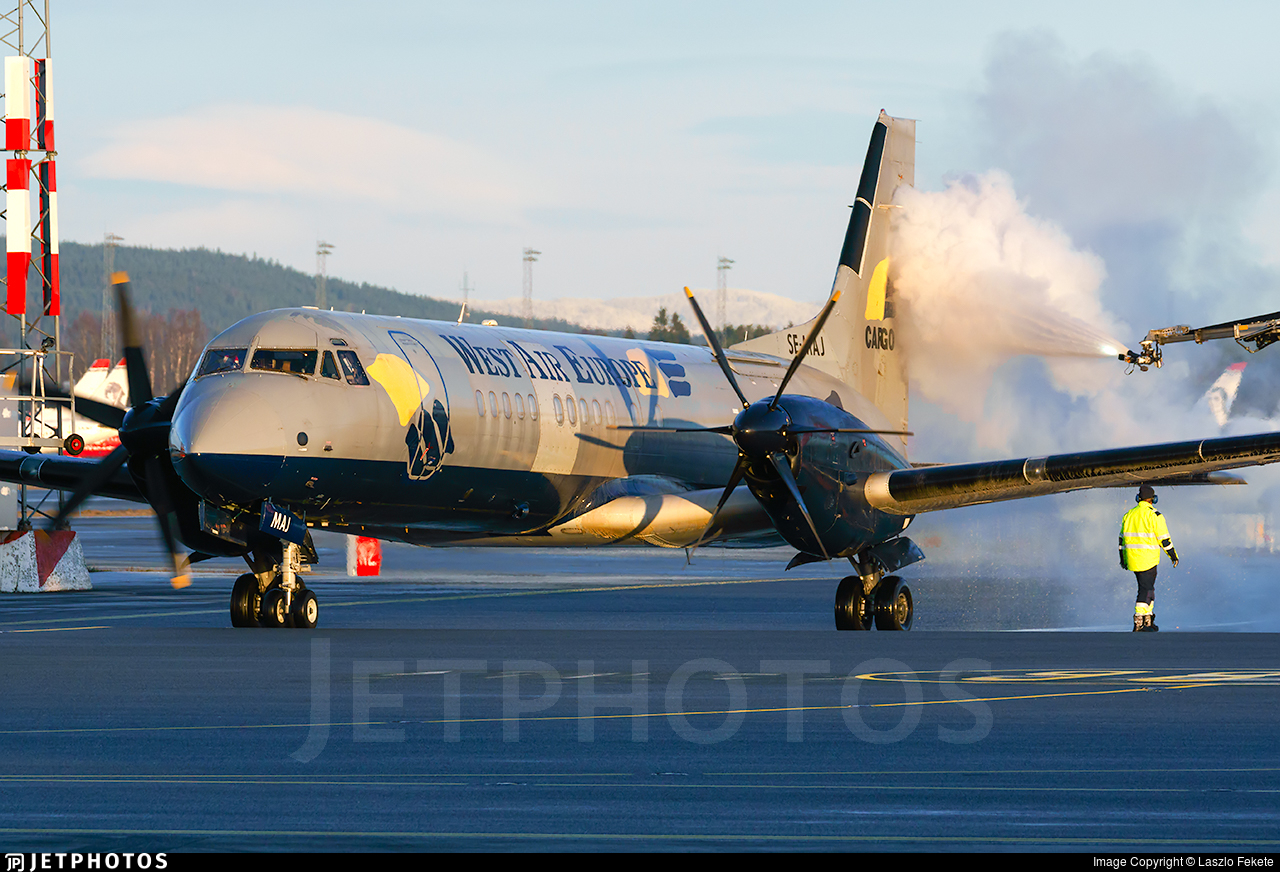 SE-MAJ - British Aerospace ATP-F(LFD) - West Air Europe