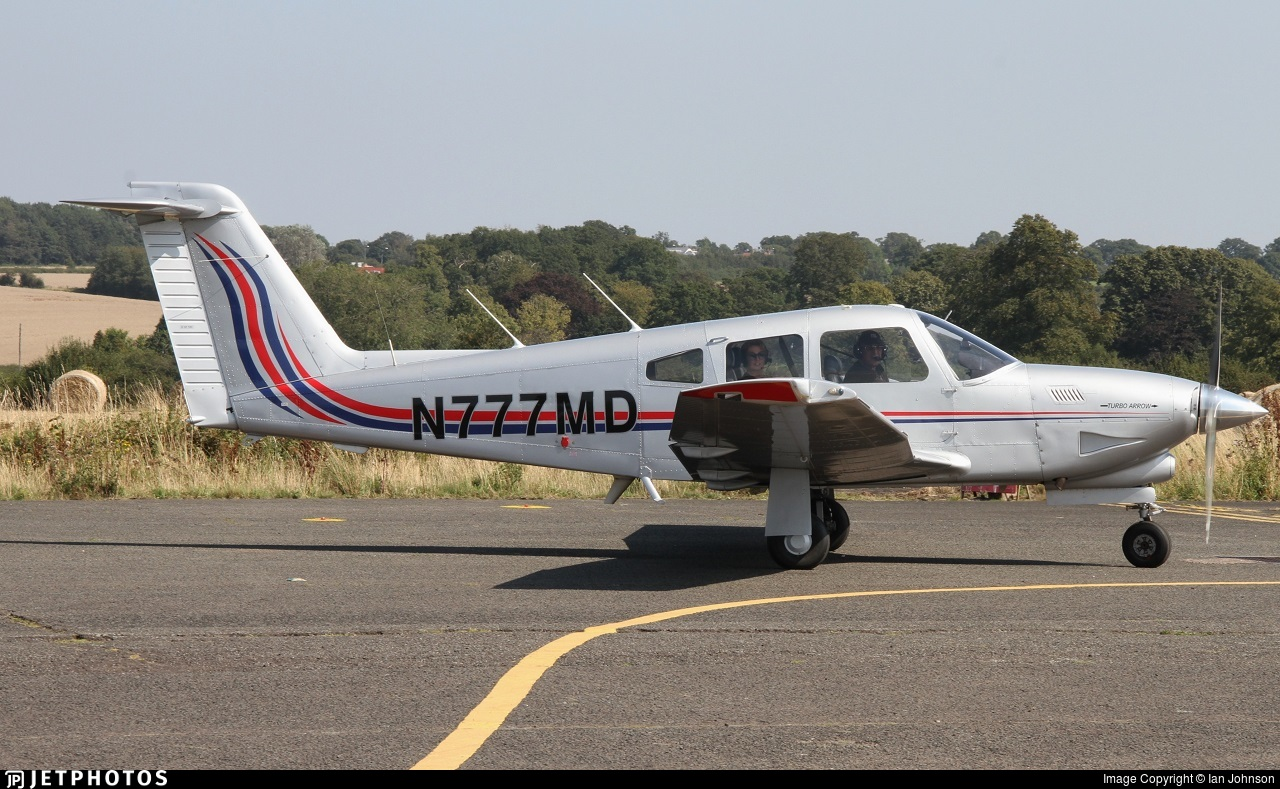 N777MD - Piper PA-28RT-201T Turbo Arrow IV - Private
