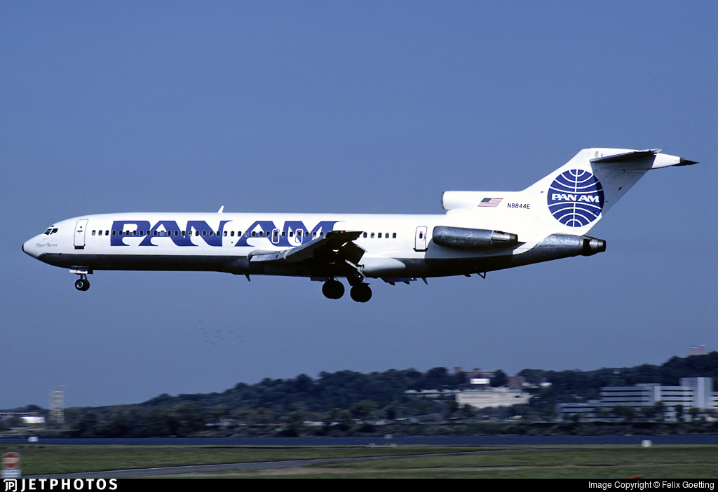 N8844E - Boeing 727-225 - Pan Am